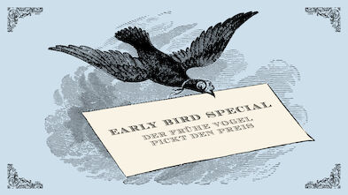 Earlybird -Special Conditions - on early bookings