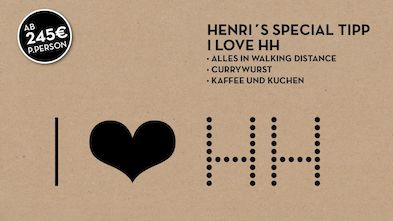I love HH - a special for Hamburg Tourists