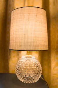 Bedsidetable lamp retro style