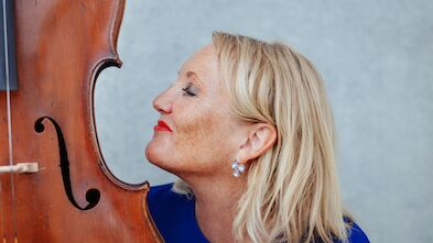 Henri's Friend & Cellistin Eva Freitag